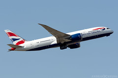 G-ZBJF (Andras Regos) Tags: aviation aircraft plane fly airport lhr egll heathrow spotter spotting takeoff britishairways ba speedbird boeing 787 787dreamliner dreamliner b788 7878