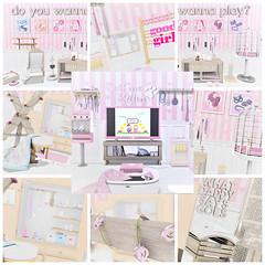 Blog - Do You Wanna Play? - NDD (christinecoreay) Tags: shortleash babygirl pink decor bdsm secondlife sldecor