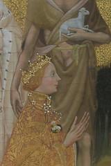 Diptyque de Wilton - 1 - Richard II (Jean (tarkastad)) Tags: tarkastad gb uk unitedkingdom angleterre grandebretagne britain england royaumeuni musée museum gothique