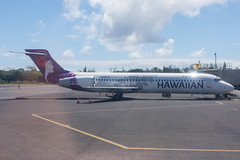 Hawaiian Airlines Boeing 717-22A; N484HA@ITO;22.08.2019 (Aero Icarus) Tags: plane avion aircraft flugzeug hilo