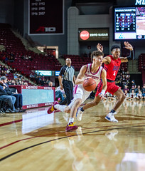 University of Massachusetts Men's Basketball vs Duquesne (1/25/19) (dailycollegian) Tags: umass umassamherst umassathletics athletics sports basketball winter win mens duquesne mullins homegame parkerpeters koltonmitchell