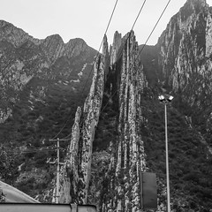 The Other Side Of The Mountain (jrpopfan) Tags: mexico citylife monterrey urban landscape blackandwhitephotography travel mountainscape landscapes mountains city bw vacation blackandwhite international exploration