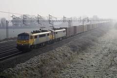 86622 86614 Rugeley 191119 J Neave (John Neave) Tags: electric railway locomotive class86