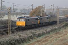 86101 87002 47810 Rugeley 191119 J Neave (John Neave) Tags: electric railway locomotive class86
