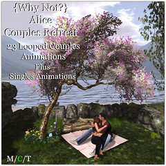 {Why Not} Alice Couples Retreat ({Why Not ?}) Tags: whynot secondlife mesh furniture outdoor couples cuddle birdhouse