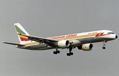 Ethiopian Cargo Boeing 757-200F ET-AJS (gooneybird29) Tags: flugzeug flughafen aircraft airport airplane airline fra boeing 757 ethiopian etajs ethiopiancargo