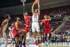 University of Massachusetts Men's Basketball vs Duquesne (1/25/19) (dailycollegian) Tags: umass umassamherst umassathletics athletics sports basketball winter win mens duquesne mullins homegame parkerpeters tremitchell