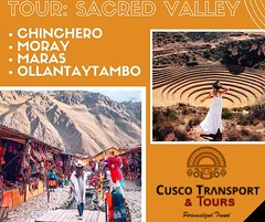 From the salt ponds of $#Maras to #Ollantaytambo's Inca fortress, the Urubamba Valley has much to explore. This day long tour from Cusco visits the main sights of Peru's Sacred Valley. Visit #Chinchero an Andean village with incredible mountain scenery, s (cuscotransportweb) Tags: landscapes toursofperu hiking cusco perútours andes sacredvalley inca worldwonders andesmountains privatetours tourcusco perú chinchero moray maras ollantaytambo cuscotransport cuscoperú