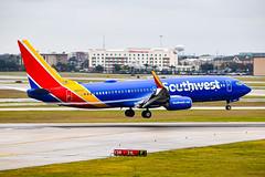 Southwest 737 800 N8502Z (SSladic Photography) Tags: n8502z hobbyairport southwest southwestairlines houstonhobbyairport airplanes boeing737800