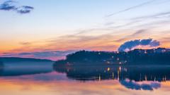 _DSC0013 (johnjmurphyiii) Tags: 06457 clouds connecticut connecticutriver dawn harborpark middletown originalnef sky sunrise tamron18400 usa winter johnjmurphyiii