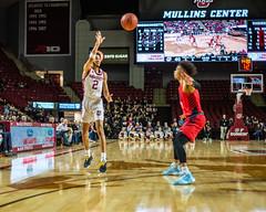 University of Massachusetts Men's Basketball vs Duquesne (1/25/19) (dailycollegian) Tags: umass umassamherst umassathletics athletics sports basketball winter win mens duquesne mullins homegame parkerpeters prestonsantos