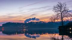 _DSC0011 (johnjmurphyiii) Tags: 06457 clouds connecticut connecticutriver dawn harborpark middletown originalnef sky sunrise tamron18400 usa winter johnjmurphyiii