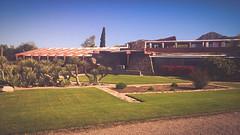 Taliesin West #4 (jrpopfan) Tags: scottsdale summer exploreeverthing traveling desert travel statue exploration iphone architecture taliesinwest wanderlust franklloydwright summersun arizona