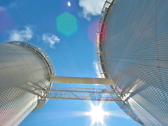 Escalera. Telescopio (BastianAlejandro) Tags: astronomía lasilla cima altura cielo estrellas galaxias nebulosas
