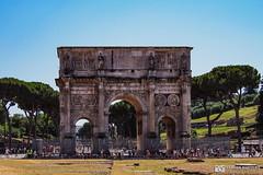 190706-015 Arc de Constantin (2019 Trip) (clamato39) Tags: ark arc rome italie italy europe olympus ruines ruins patrimoine landmark voyage trip