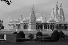 BAPS Shri Swaminarayan Mandir (jrpopfan) Tags: blackandgrey building stafford hindumandir blackandwhitephoto blackwhite canon blackandwhitepicture structure baps religion religious blackandwhitepics indian texas blackandwhitephotography swaminarayanmandirs blackandwhitelovers bwcapture temple architecture hinduism church blackandwhite international hindu