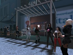 Partyyy at Seter (Lilly Cicaskes) Tags: party fun dance music gorgeous beauty beautiful adorable girls sexy firestormsecondlifesecondliferegionsetersecondlifeparcelsetermaurbanroleplaysecondlifex124secondlifey67secondlifez29