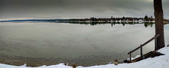 The Empty Torch Sandbar . . . (Dr. Farnsworth) Tags: lake calm overcast clouds nopeople boats people busy torchlake mi michigan winter january2020