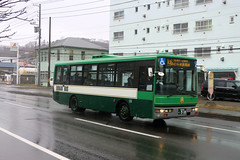 Donan Bus 173 9 10 (Howard_Pulling) Tags: japan japanese bus buses hokkaido muroran donan transport howardpulling