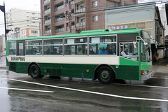 Donan Bus 42 (Howard_Pulling) Tags: japan japanese bus buses hokkaido muroran donan transport howardpulling