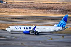 United Boeing 737 824 N14249 (SSladic Photography) Tags: iah unitedairlines georgebushintercontinentalairport airplanes bushintercontinentalairport houstoniah n14249