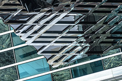 (jfre81) Tags: chicago streeterville magnificent mile ontario street mag michigan avenue burberry building architecture modern reflection geometry line diagonal abstract texture minimalism shape form 312 windy second city urban james fremont photography jfre81 canon rebel xs eos