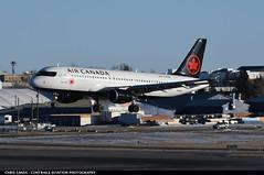 Air Canada A320 CFZQS (Sandsman83) Tags: airplane aircraft plane landing cyyc yyc calgary airport airbus a320 cfzqs air canada staralliance
