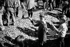 XPR29852 (alhawley) Tags: blackandwhite bw grain streetphotography americanflag american americana bigboy acros arebureboke captureone fujinonxf1855f284rlmois fujifilmxpro2 street shadow usa monochrome candid photojournalism highcontrast naturallight gritty everytownusa children railroad
