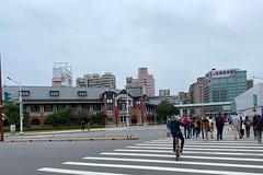 台北鐵道博物館 (nk@flickr) Tags: friend taipei cycling 台北 taiwan 台湾 20200125 bobby 台灣 iphone11probacktriplecamera425mmf18