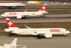 HB-JCM (GH@BHD) Tags: hbjcm bombardier cs300 cseries cseries300 swissglobalairlines zurichairport airbus a220 a220300 lx swr swiss swissinternationalairlines zrh lszh zurich kloten aircraft aviation airliner