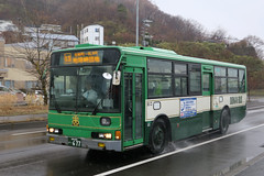 Donan Bus 85 6 77 (Howard_Pulling) Tags: japan japanese bus buses hokkaido muroran donan transport howardpulling