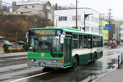 Donan Bus 116 10-53 (Howard_Pulling) Tags: japan japanese bus buses hokkaido muroran donan transport howardpulling