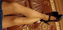 Assorted shots (Terri James) Tags: active pantyhose mantyhose maryjane transvestite crossdresser crossdress crossdressing cd cross stockings dressing dress hose heels high hosiery phose sheerenergy sheer legs leggs nylons energy suntan men mini miniskirt support skirt