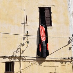 On a Maroccan Day (paaddor) Tags: window housesandwindows flickr marocco blanket flickrcool flickrphotography cityscape architecture cityscene
