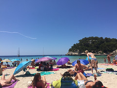Cala Mitjana (kram cam) Tags: menorca beach spain balearic photo digital island