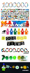 1-2-3-4-5-6-7-8 millions (Vanjey_Lego) Tags: lego minifig minifigs minifigure minifigures 8 millions views