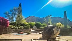 Taliesin Explored (jrpopfan) Tags: scottsdale summer exploreeverthing traveling desert travel statue exploration iphone architecture taliesinwest wanderlust franklloydwright summersun arizona