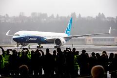 2020_01_25 Boeing 777X First Flight-37 (photoJDL) Tags: 777 7779x 777x 777xfirstflight bfi boeing boeing777 boeing7779x boeing777x boeingfield jdlmultimedia jeremydwyerlindgren kbfi n779xw aircraft airline airplane airport aviation