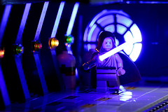 B shot (Frost Bricks) Tags: lego minifigure toy photography star wars obi wan kenobi