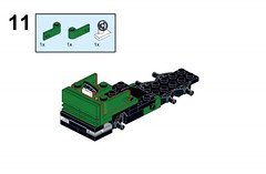 New Instructions! (percy.pine) Tags: lego building instructions moc vehicle new truck lorry car bricklink stud ldd