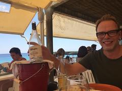 Lunch at Sant Tomas (Beach) (kram cam) Tags: menorca beach spain balearic photo digital island