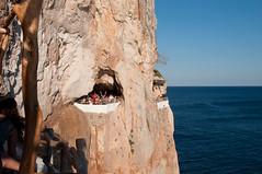 BD enjoying sundowners at Cava D'En Xoroi (kram cam) Tags: menorca beach spain balearic photo digital island