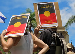 Aboriginal Land (Grenzeloos1) Tags: invasionday2020 alwayswasalwayswillbe indigenous rally meanjin brisbane