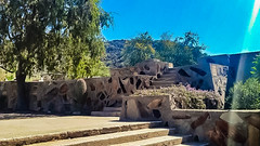Taliesin Stairs (jrpopfan) Tags: scottsdale summer exploreeverthing traveling desert travel statue exploration iphone architecture taliesinwest wanderlust franklloydwright summersun arizona