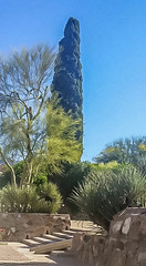 Gardens of Taliesin West (jrpopfan) Tags: scottsdale summer exploreeverthing traveling desert travel statue exploration iphone architecture taliesinwest wanderlust franklloydwright summersun arizona