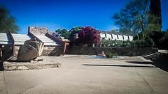 Taliesin West #7 (jrpopfan) Tags: scottsdale summer exploreeverthing traveling desert travel statue exploration iphone architecture taliesinwest wanderlust franklloydwright summersun arizona