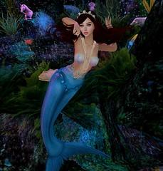 Pearls (Ollivee) Tags: secondlife sl slmesh slbento maitreya mesh mermaid slmermaid genus tableuvivant mermaidhaven
