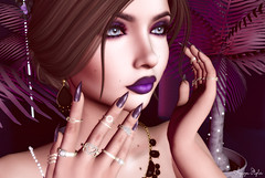 ❤ Dark Crush (Aziza Style) Tags: ahlure darkpassionskoffinnails crushevent lelutka maitreya glamaffair aviglam izzies cazimi vibing yummy {limerence} ninax kai foxcity halfdeer secondlife
