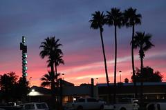 Motel sunset (The Sloths) Tags: tucson arizona cyclingarizona usa us america unitedstatesofamerica unitedstates