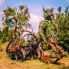 Roadtripping Texas Coastline (jrpopfan) Tags: sculpture rebelt3 photograph texas statue nature photography livetexan art botanicalgarden swamp corpuschristi